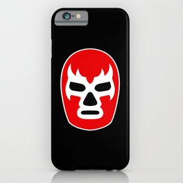 Lucha Libre Red iPhone Case