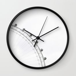 London Eye Monochrome Wall Clock