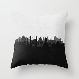 City Skylines: Hyderabad Throw Pillow