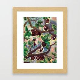 Cocoa trade Framed Art Print