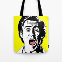 ace Tote Bags featuring Ace by Gary Barling
