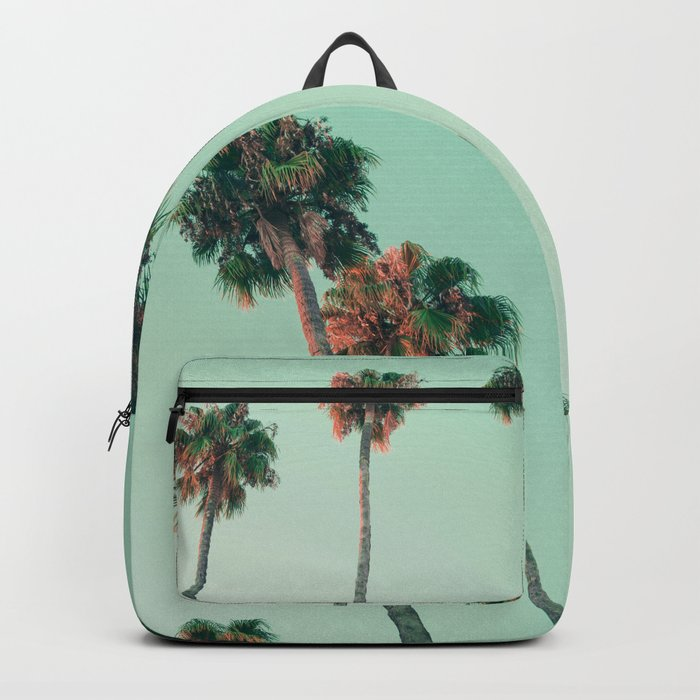 Palm trees at sunset Backpack
