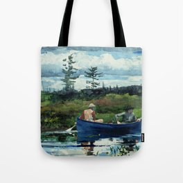 Winslow Homer - The Blue Boat, 1892 Tote Bag