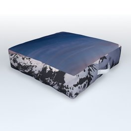 Mount Baker - Nature Photography Outdoor Floor Cushion