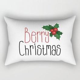 Berry Christmas Rectangular Pillow