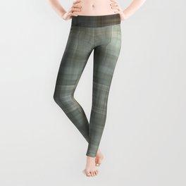 Modern Abstract Plaid Leggings