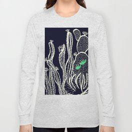 Cactus 72 black green Long Sleeve T-shirt