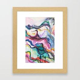 Happy Birthday Beth Framed Art Print