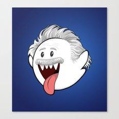 BooStein - Mario Boo and Einstein Mashup Canvas Print