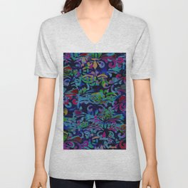 Dappled Pattern Unisex V-Neck