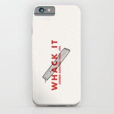 Whack it - Zombie Survival Tools iPhone 6s Slim Case