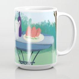 Beautiful Garden Girl Coffee Mug