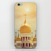 russian iPhone & iPod Skins featuring Russian Orthodox Church by Colleen Farrell
