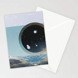 Last Night We Went To Space But I Knew It Was A Dream Even Before I Woke Up Stationery Cards