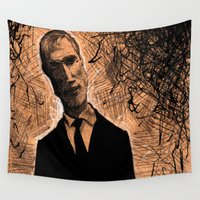 gangster Wall Tapestries featuring Gangster No.1 by Cadmium Craig