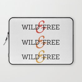 Wild and Free Fade Laptop Sleeve