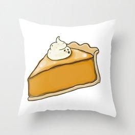 Big Pie Throw Pillow