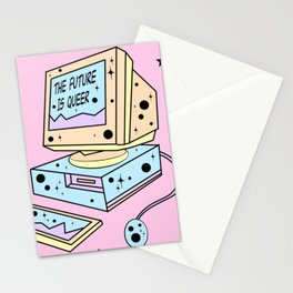 The Future is Queer Stationery Cards