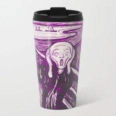 The Scream's Haze (purple) Metal Travel Mug