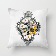Skull Still Life Throw Pillow