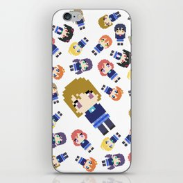 Pixel Hanayo iPhone Skin