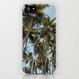 Find me under the palms iPhone Case
