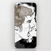 cumberbatch iPhone & iPod Skins featuring Benedict Cumberbatch by Hologarithm