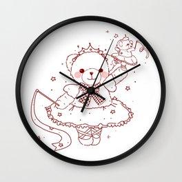 The Adventures of Bear and Baby Bear-Prima Ballerina Wall Clock