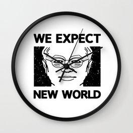 New World part II Wall Clock