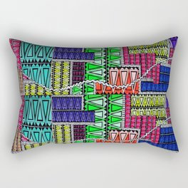 interlocking Rectangular Pillow