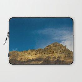 Orange and Blue Laptop Sleeve