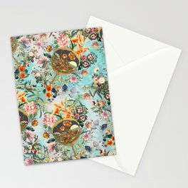 Floral and Lobster Stationery Cards