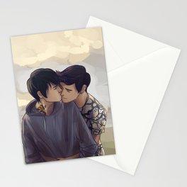 Malec backhug Stationery Cards