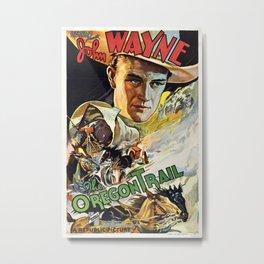 Vintage poster - The Oregon Trail Metal Print