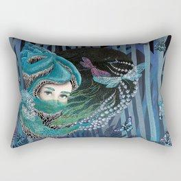 Forest eyes Rectangular Pillow