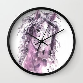 My Pretty Pony in Pink Wall Clock