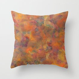 Svadhisthana Mandala (Sacral Chakra, 2nd Chakra) Throw Pillow
