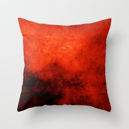 Abstract Cave XI Throw Pillow