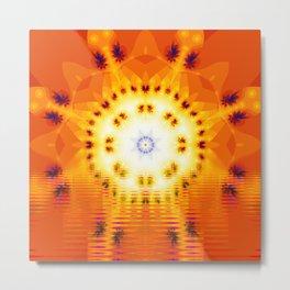 Let The Sunshine Metal Print