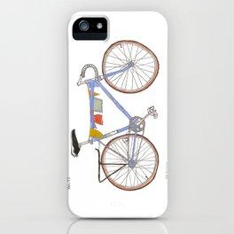 Blue Bike no 12 iPhone Case