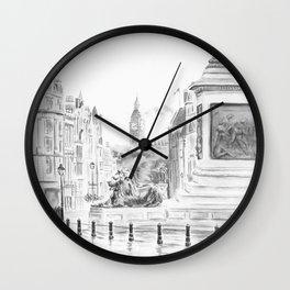 Trafalgar Square II Wall Clock