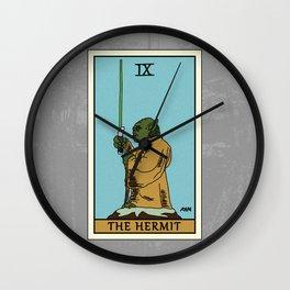 The Hermit - Tarot Card Wall Clock