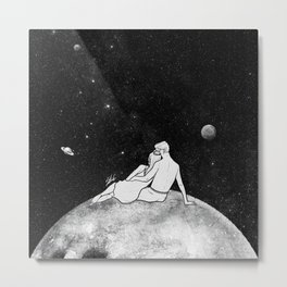 The greatest moon. Metal Print