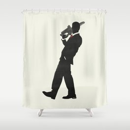 Just another day at the office Shower Curtain