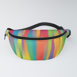 Paint Yourself In Stripe Fanny Pack