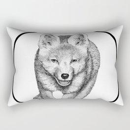 The Fox Running - Animal Drawing Series Rectangular Pillow