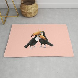 Toucan Love Rug
