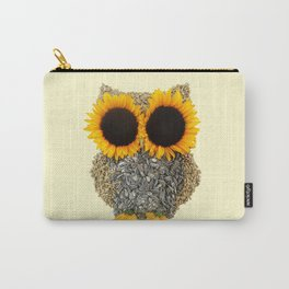 Hoot! Day Owl! Carry-All Pouch