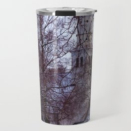 Concept Baden-Wurttemberg : Chapel with Cemetery in Laupheim Travel Mug