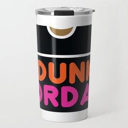 Dunks & Jordans Travel Mug